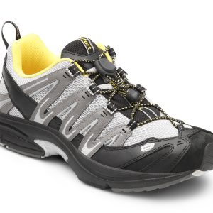Dr Comfort Performance Grey YLW Shoes