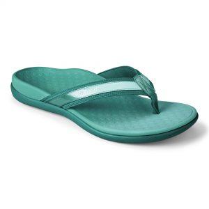 Vionic Islander-Teal Thong Shoe