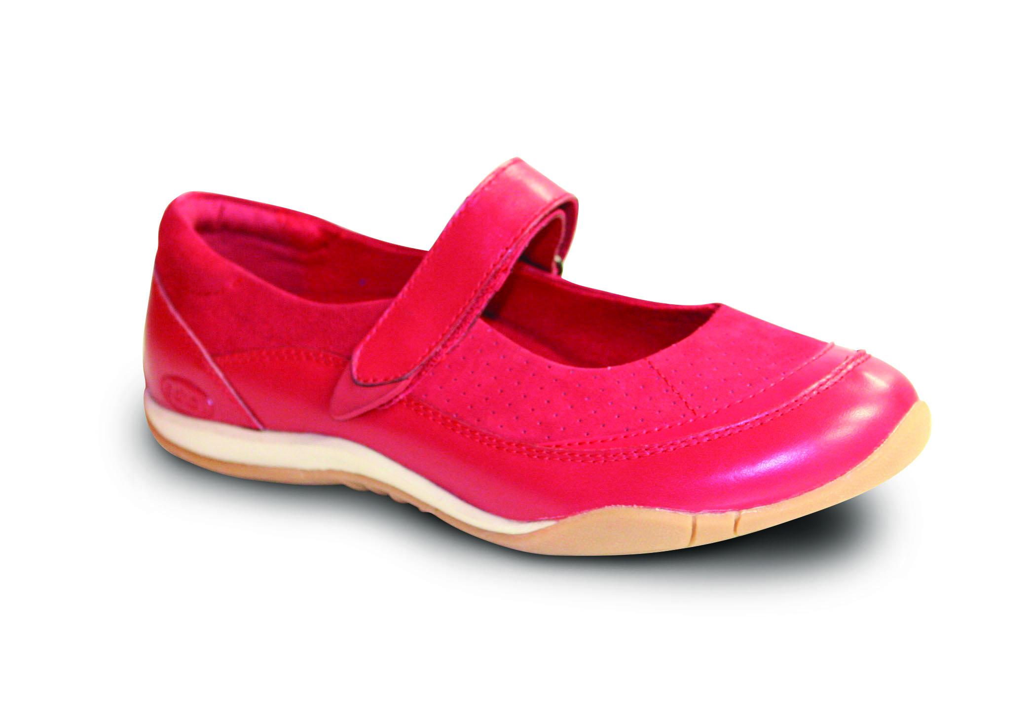 Lia (red) – Scholl Orthaheel Shoe – Podiatry on Plenty