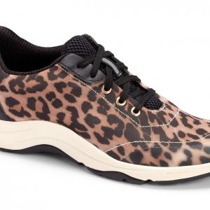 Vionic Tourney Tan Leopard Shoe